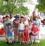 Bob Powers and Family July 4