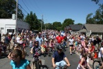 July 4th Bikes and Walkers